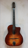 Eastman DM1 Gypsy Jazz Guitar Classic Finish w/ Gigbag