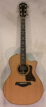 Taylor 714CE Custom Cedar Top Natural Finish w/ HSC