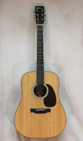 Eastman E6D Dreadnaught All Solid w HSC