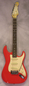 G and L Legacy Fullerton Red w/ HSC