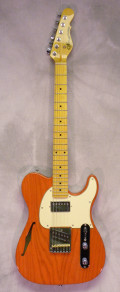 G and L Tribute Bluesboy Semi-H Clear Orange