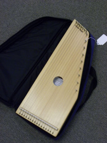 USED Masterworks MWZ16 Zither w/ gigbag