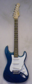 G and L Fullerton Standard Legacy Emerald Blue Metallic w/ gigbag