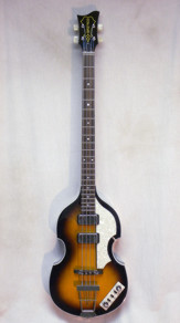 Hofner Contemporary Violin Cavern Bass Sunburst w/ HSC