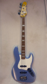 G and L Tribute JB Bass Lake Placid Blue